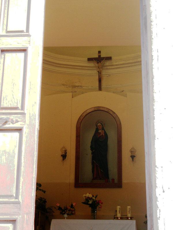 Chiesa Madonna delle Grazie - interno
